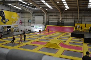 Ein Teil des Jumphouse