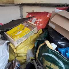 Ein großer Teil vom Müll