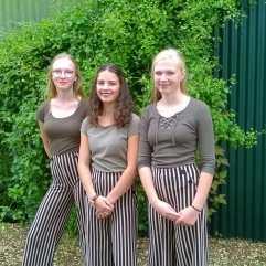 Marie, Kiki und Leni
